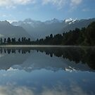 Lake Matheson by Anny Arden