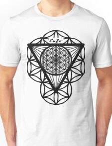 FlowerOfLife(black) Unisex T-Shirt