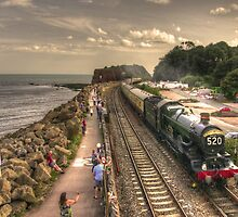 Torbay Express at Dawlish Warren  by Rob Hawkins