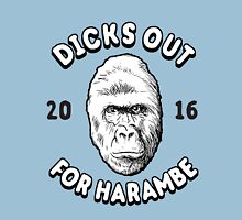Dicks Out For Harambe 2016 T-Shirt Unisex T-Shirt