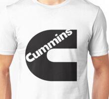 Cummins Logo Black Unisex T-Shirt