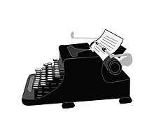 Typewriter by DylanCarlson