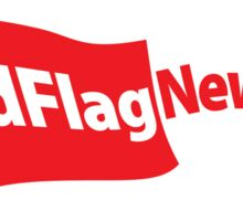 RedFlag News Bumper Sticker Sticker