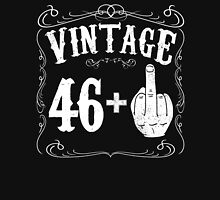 Vintage middle finger salute 47th birthday gift funny 47 birthday 1969 Unisex T-Shirt