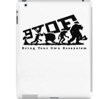 WAAAGH! Brink Your Own Ecosystem - BLACK iPad Case/Skin