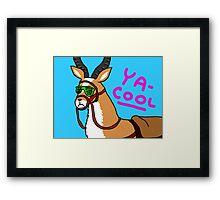 YA-COOL Framed Print