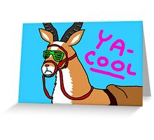 YA-COOL Greeting Card