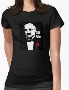 The God Father Womens Fitted T-Shirt