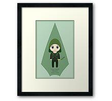 Arrow: Too Cute to Fail Framed Print