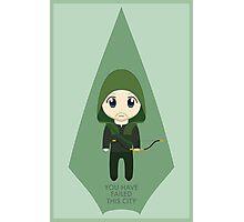 Arrow: Too Cute to Fail Photographic Print
