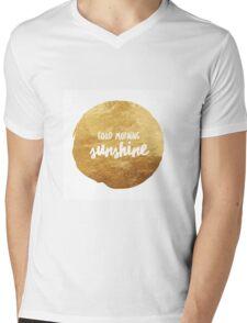 Good morning sunshine large Mens V-Neck T-Shirt