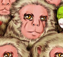 Macaques! Sticker