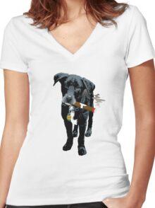 Dorrigo Women's Fitted V-Neck T-Shirt