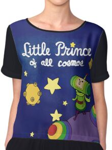 Little Prince of All Cosmos Chiffon Top