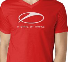 A STATE OF TRANCE transparant Mens V-Neck T-Shirt