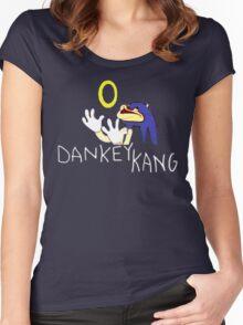 Dankey Kang Shirt Women's Fitted Scoop T-Shirt