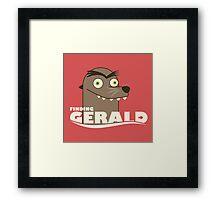 find gerald Framed Print