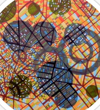 bombing Milan (original sold) Sticker
