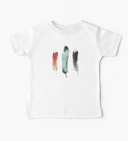 Feathers Baby Tee