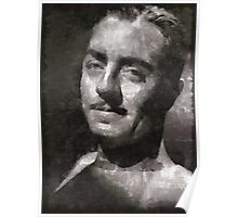 William Powell Hollywood Actor Poster