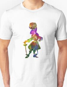 Captain Hook in watercolor Unisex T-Shirt