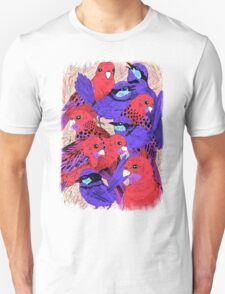 Wrens and Rosellas Delight! Unisex T-Shirt