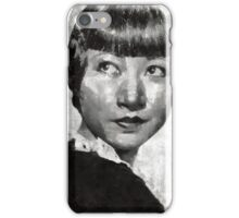 Anna May Wong Vintage Hollywood Actress iPhone Case/Skin
