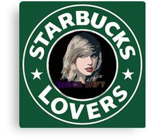 Starbucks Lovers - Taylor Swift Canvas Print