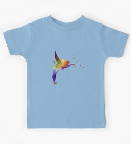Tinkerbell in watercolor Kids Tee