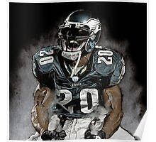 Philadelphia Eagles  Brian Dawkins Poster