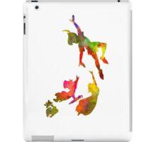 Peter Pan in watercolor iPad Case/Skin