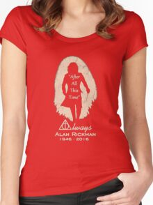 Harry tshirt, after time Women's Fitted Scoop T-Shirt