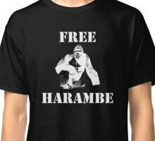 Free Harambe (White) Classic T-Shirt