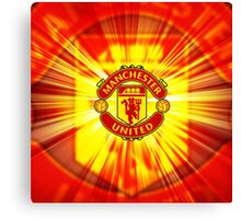 Manchester United Red 2016 Canvas Print