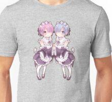 Rem & Ram - Re:Zero kara Hajimeru Isekai Seikatsu Unisex T-Shirt