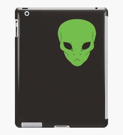 Alien Face - Green / OG iPad Case/Skin