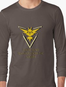 Team Instinct - No Shelter Long Sleeve T-Shirt
