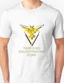 Team Instinct - No Shelter Unisex T-Shirt