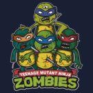 Teenage Mutant Ninja Zombies by fredesigns