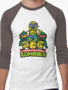 Teenage Mutant Ninja Zombies Men's Baseball ¾ T-Shirt