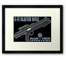 Star Wars Stormtrooper E-11 Blaster Framed Print