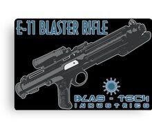 Star Wars Stormtrooper E-11 Blaster Canvas Print