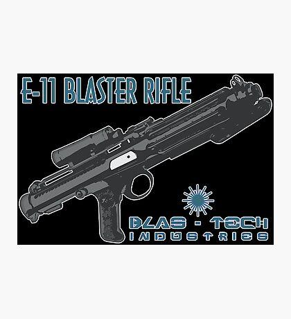 Star Wars Stormtrooper E-11 Blaster Photographic Print