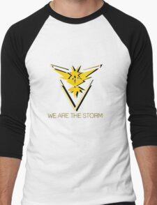 Team Instinct - We Are the Storm Men's Baseball ¾ T-Shirt