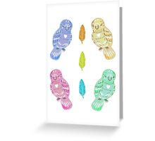 Birbs! Greeting Card