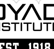 Property of DYAD INSTITUTE Sticker