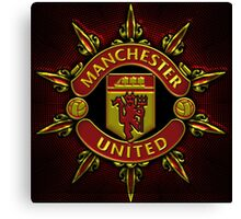 Manchester United Star red  Canvas Print