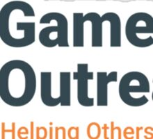Gamers Outreach Logo V2 Sticker