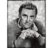 Kirk Douglas by MB Photographic Print