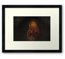 the locale Framed Print